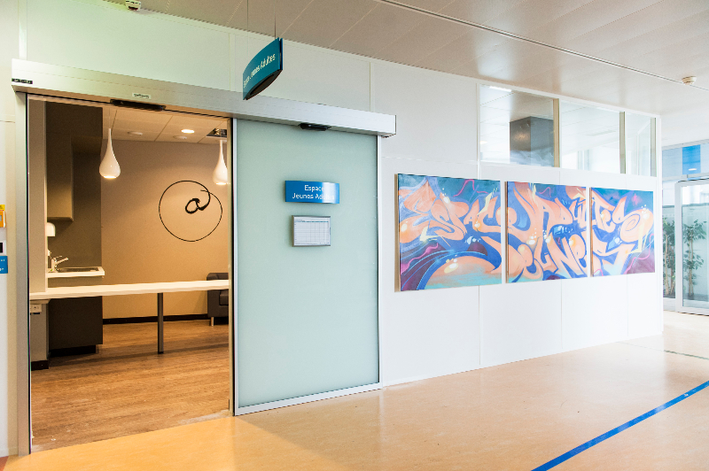 Juin 2012 – Lancement du projet Espace Jeunes Adultes au sein du service d'oncologie des HUG