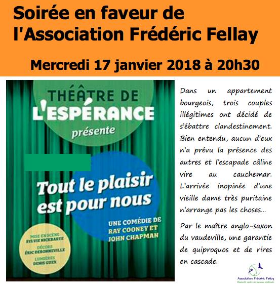 2018 Janvier – Soirée au Théâtre de l'Espérance