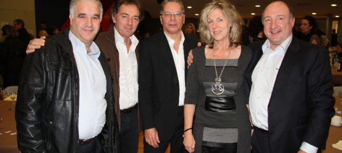 Novembre 2011  – Première soirée de l'Association à la salle Point Favre à Chêne-Bourg