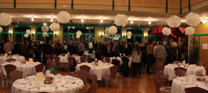 Novembre 2013 – Soirée de l'Association « Flocons et Flacons » à la salle communale de Confignon