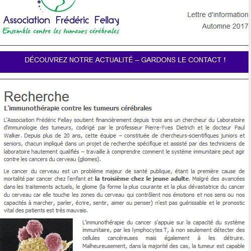 lettre info - Automne 2017